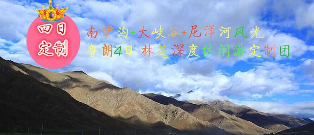 南伊沟+大峡谷+尼洋河风光+鲁朗4日 林芝深度休闲游定制团